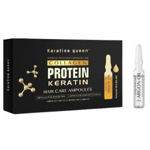 ویال کراتین مو کویین پک 10 عددی Protein keratin
